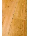 Parquet à clouer sur lambourde massif en chêne vieilli aspect bois brut , grande largeur 190 mm