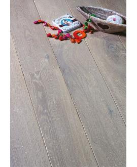 Parquet vielli chêne contrecollé gris de brume huilé plancher ancien top 3.2mm largeur 140, 170,190mm PA68 CDE