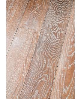 Parquet vielli cérusé chêne contrecollé marengo huilé plancher ancien top 3.2mm largeur 140, 170,190mm PA83 CDE