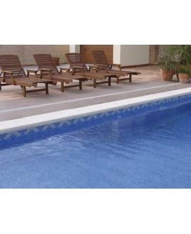 Emaux de verre bleu foncé piscine mosaique salle de bain mosbr-2006 2.5x2.5 cm