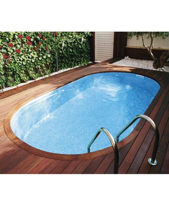 Emaux de verre piscine bleu clair nuancé mosaique salle de bain mosbr-2003 2.5x2.5cm sur trame.