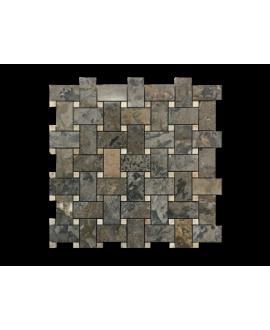 mosaique marbre diamantine 30x30x1cm