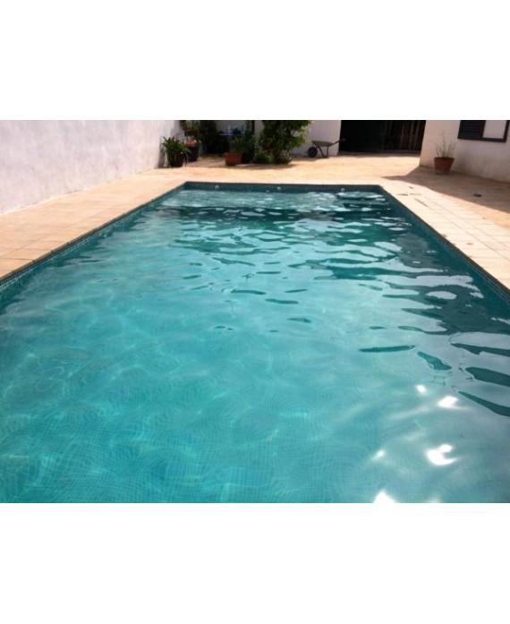 Emaux de verre piscine mosaique salle de bain vert foncé mosbr-3003 2.5x2.5cm sur trame.