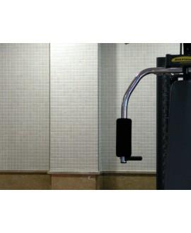 Emaux de verre ivoire marfil piscine mosaique salle de bain mosmc-501 2.5x2.5 cm sur trame.