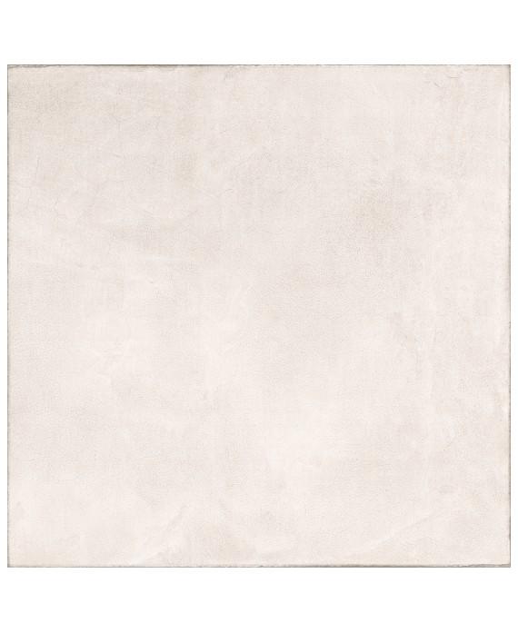 Carrelage imitation béton ou résine mat, très grand format 120x120cm rectifié, santaset white