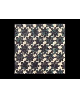 travertin décoré portofino 20x20x1.2cm