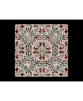 travertin décoré istanbul 20x20x1.2cm