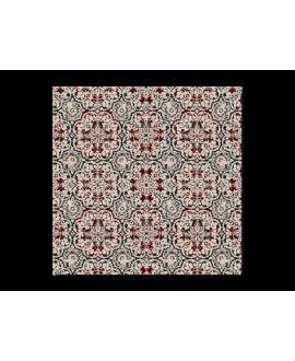 travertin décoré ankara 20x20x1.2cm