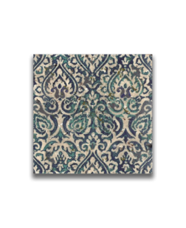 travertin décoré pondichéry 20x20x1.2cm