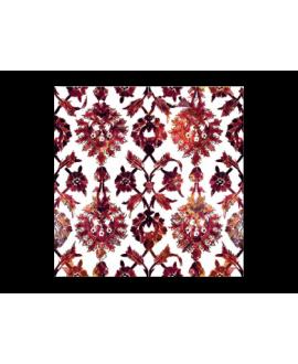 travertin décoré ispahan 20x20x1.2cm