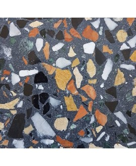 Carrelage ciment terrazzo véritable PP09 40x40cm