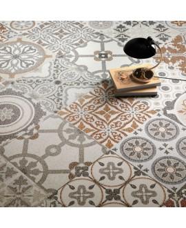 Carrelage décor imitation terrazzo granito mat 60x60cm rectifié, santanewdeco patchwork