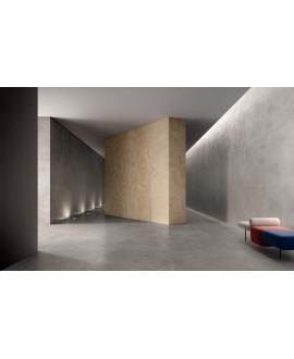 Carrelage interieur contemporain, imitation béton ou résine mat, 90x90cm rectifié, Santaset Grey