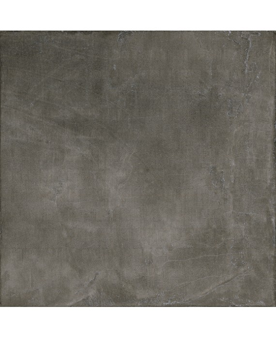 Carrelage grand format imitation béton ou résine mat, 90x90cm rectifié, Santaset dark