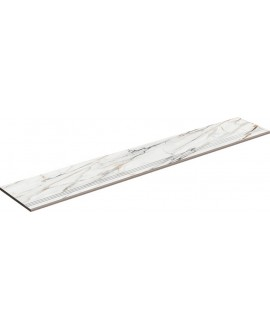 Nez de marche à bord arrondi plat 33x100cm lisse ou strié porce1842 Firenze