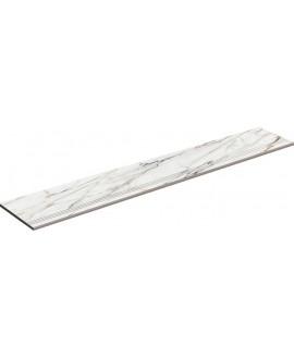 Nez de marche à bord arrondi plat poli 33x98cm lisse ou strié porce1840 Firenze