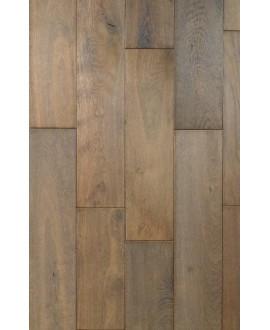 parquet massif en chêne vieux de france huilé gris , ép : 21 mm, largeur 190 mm