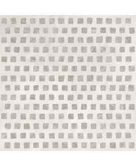 Carrelage imitation béton, décor art contemporain 90x90cm rectifié, santaset gem white