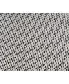 Meuble de salle de bain 125x24cm profondeur 24cm avec 3 éléments métalliques gris deux vasque 42X24cmet 24x24cm scarfold