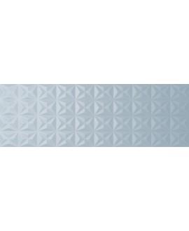 Carrelage moderne rose mat en relief 25x75x1cm rectifié santanewdot citymidblue