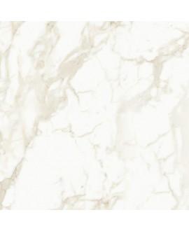 Carrelage imitation marbre poli blanc brillant rectifié 90x90x1cm, santavenatogold
