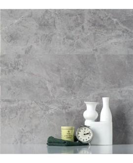 Carrelage mitation marbre gris satiné 90x90x1cm rectifié , salle de bain, santagrigiosavoia