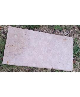 Dalle en pierre taupe vieili mat 60X40cm épaisseur 2cm et 3cm artsinai perle