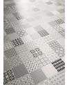 Carrelage salle de bain patchwork metrosign imitation carreau ciment contemporain 20x20cm rectifié R10