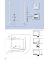 Sèche-serviette électrique design avec barre porte-serviettes salle de bain Antsaturne de couleur