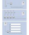 Sèche-serviette radiateur électrique design, contemporain salle de bain AntT2V  blanc mat