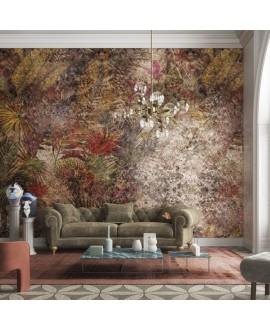 Papier peint en fibre de verre pour mur de salle de bain LYMPH_INKMHBD2002, jungle 1