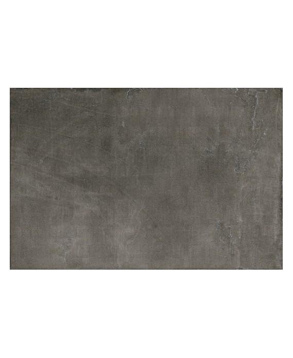Carrelage anti-dérapant forte épaisseur imitation béton 90x60x2cm, R11 A+B+C, imitation béton santaset dark