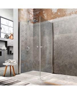 Papier peint en fibre de verre pour mur de salle de bain OLDWEB_INKOW1304 contemporain hexagone