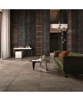 Papier peint en fibre de verre pour mur de salle de bain WALLCODEX_INKWX1305 contemporain noir