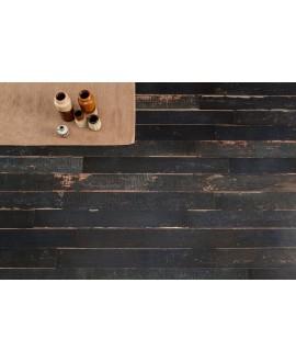 Carrelage antidérapant de forte épaisseur imitation parquet 40x120x2cm rectifié, R11 A+B+C, santablend noir