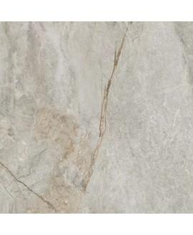 Carrelage imitation marbre gris clair mat, XXL 100x100cm rectifié, Porce1850 light.