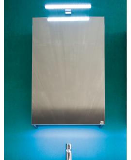 Miroir contemporain, salle de bain, avec porte G/D, L 50cm, P 15cm, H 75cm, comp link 4710.