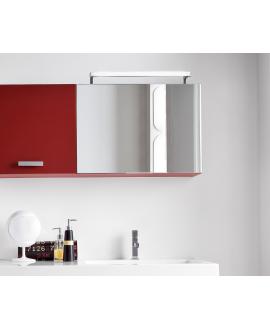 Miroir contemporain, salle de bain, avec 1 porte à abbatant, , L 70cm, P 20.8cm, H 50cm, comp swing 4615