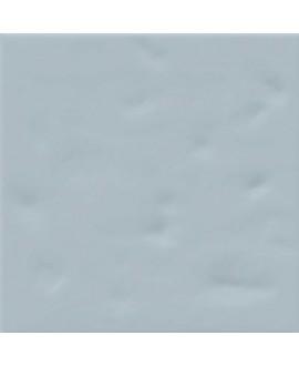 Carrelage imitation carreau ciment bleu brillant bosselé 20x20cm V paula celeste