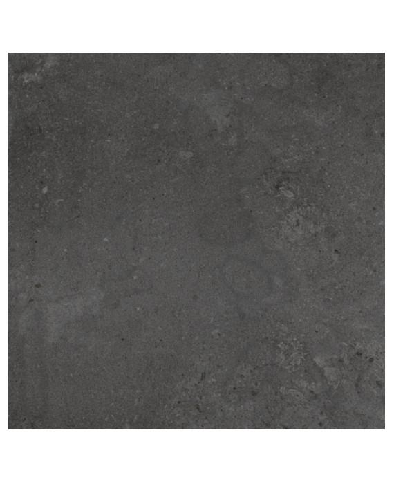 Carrelage imitation pierre moderne 120x120cm rectifié, santastone dark