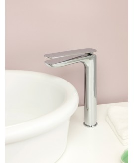 mitigeur lavabo rond réhaussé KH k2202 chromé