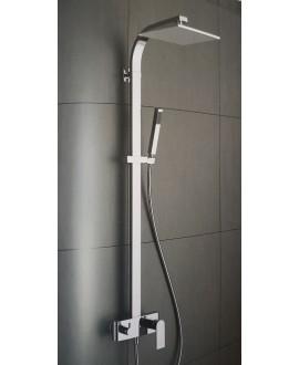 colonne de douche carrée KH k3800 chromé