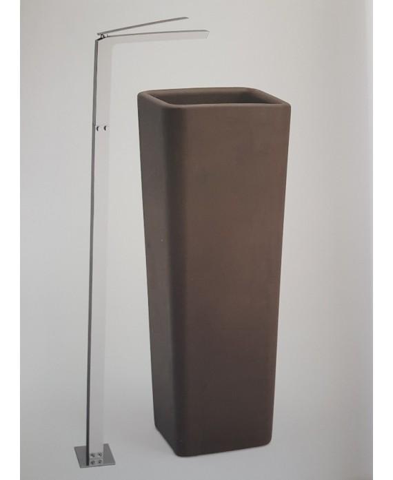 mitigeur lavabo au sol carré KH k3299 chromé