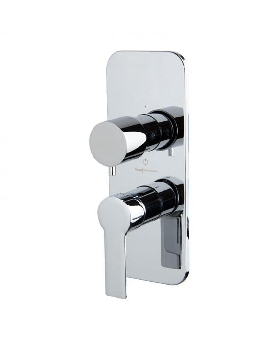 mitigeur bain douche encastré à 3 sorties  mast chromé F3139X6  + F4000