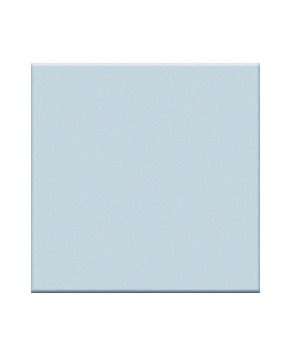 Mosaique en grès cérame mat de couleur azzuro 5X5cm
