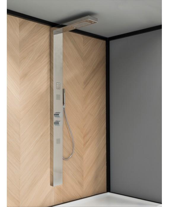 colonne de douche ma801 thermostatique chromée