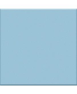 Mosaique bleu clair mat salle de bain cuisine 5X5 cm sur trame VO interni cielo