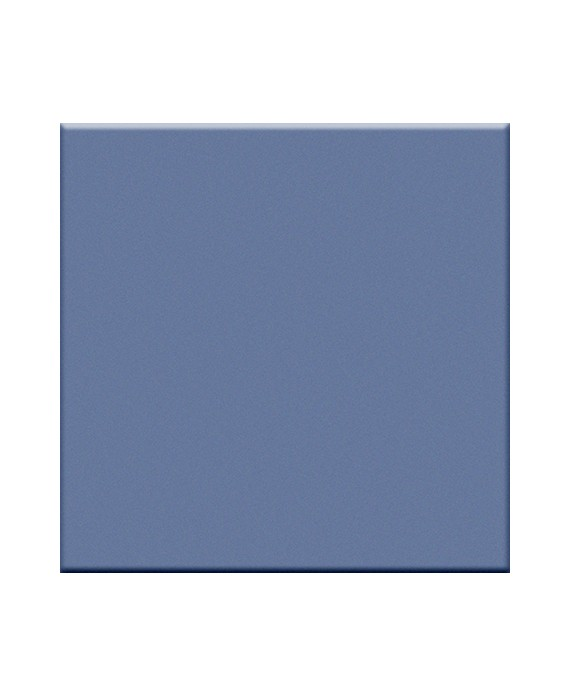 carrelage mat blu avio 5X5 cm