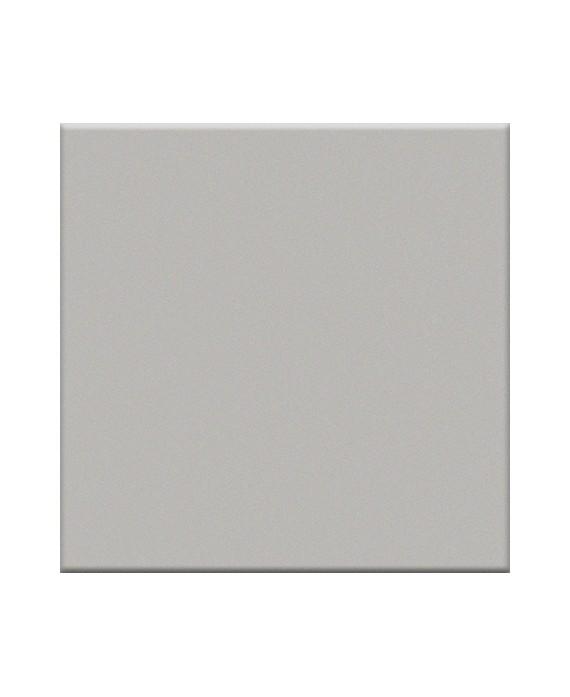 Mosaique en grès cérame mat de couleur argento 5X5 cm