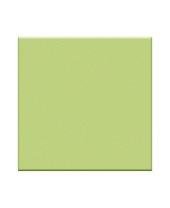 Mosaique vert pistache mat cuisine salle de bain sol et mur 5X5 cm sur trame VO pistache